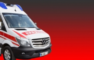 Ambulansta oksijen tüpü patladı: 3 yaşındaki...
