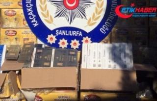 262 bin paket kaçak sigara yakalandı