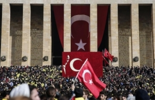 Anıtkabir'i 6 milyonu aşkın kişi ziyaret...