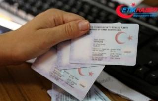 Yeni kimlik kartlarından alanların sayısı 16 milyona...