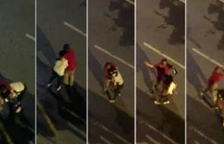 Antalya'da sokakta yürüyen kadını taciz eden...