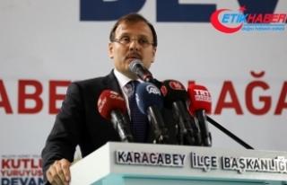 Başbakan Yardımcısı Çavuşoğlu: Kudüs'te...