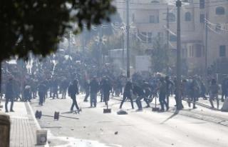 Batı Şeria'daki gösterilerde 108 Filistinli...