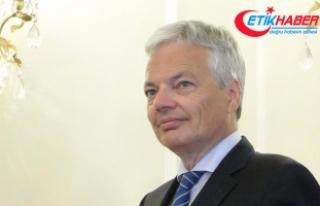 Belçika Dışişleri Bakanı Reynders: AB Filistin...