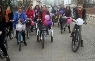 Belediye işçisinden bisiklet süren kadına 'tahrik...
