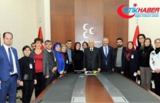 Çölyak Dernekleri Başkanları, MHP Lideri Bahçeli'yi...
