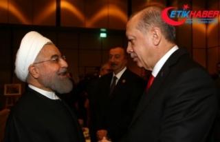 Erdoğan, İran Cumhurbaşkanı Hasan Ruhani ile telefonda...