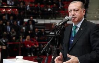 Cumhurbaşkanı Erdoğan: Ayrılık rüzgarları biz...