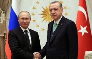 Cumhurbaşkanı Erdoğan, Putin ile Suriye'yi...