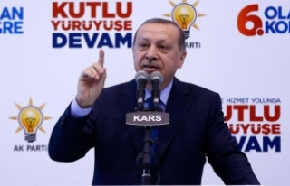 Cumhurbaşkanı Erdoğan: Sanal mahkemeler benim ülkemi...