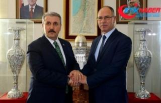 Destici'den Filistin'in Ankara Büyükelçisi'ne...