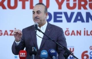 Dışişleri Bakanı Çavuşoğlu: 21'inci yüzyıl,...