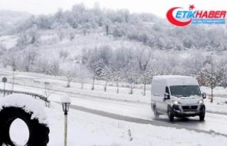 Doğuda kar yağışı nedeniyle 117 köy ve mahalle...