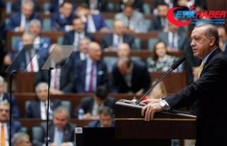 Erdoğan: Amerika'nın bize karşı bir planı olduğu...