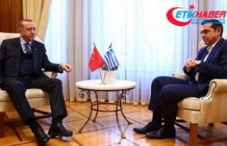 Erdoğan: Hiçbir komşu ülkenin toprak bütünlüğünde...