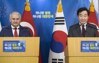 Güney Kore Başbakanı Lee: Ayla filmini izlemek...
