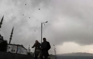 İstanbul'a fırtına uyarısı...