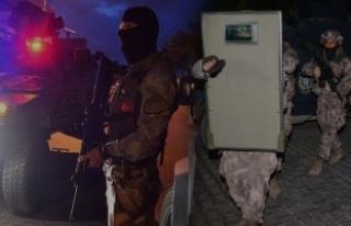 İstanbul'da eylem hazırlığındaki DEAŞ'lılara...