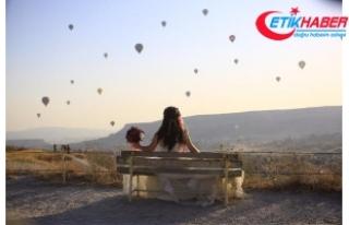 Kapadokya'ya kasımda 139 bin ziyaretçi