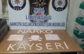 Kayseri'de 2 bin 943 Ecstasy hap ele geçirildi