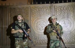 Kerkük'te Irak Türkmen Cephesi bürolarına...