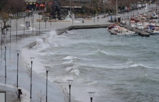 Kuzey Ege'de fırtına
