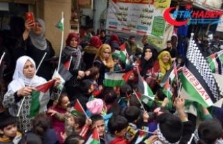 Lübnan'da ABD'nin Kudüs kararı protesto...