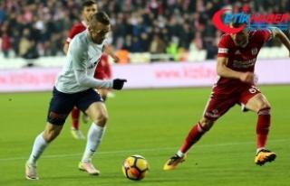 Medipol Başakşehir deplasmanda mağlup
