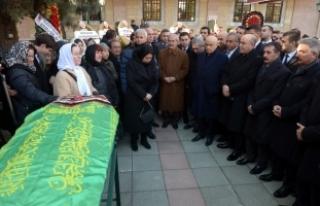 MHP'li Ruhsar Demirel'in annesi toprağa...