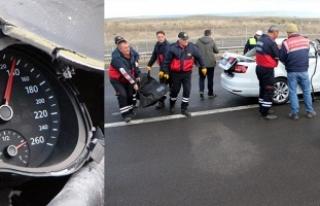 Ölümlü kazada otomobilin hız kadranı 130'da...