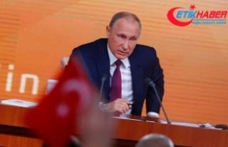 Putin ABD'nin Kremlin Raporu'nda yer almadığı...