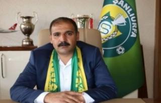 Şanlıurfaspor Başkanı Yetim darp iddiası sebebiyle...