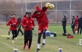 Sivasspor gözünü Beşiktaş maçına çevirdi