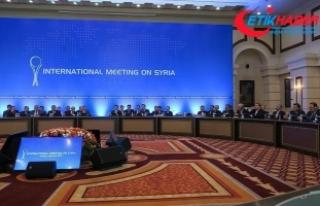 Suriye konulu 8. Astana toplantısı yarın başlayacak