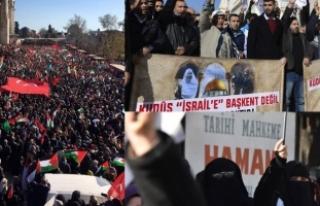 Türkiye'de Kudüs protestoları
