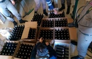Yılbaşı öncesi Çeşme'de kaçak içki operasyonu