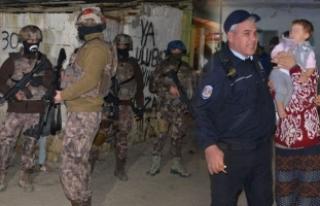 Adana'da bin polisle hava destekli operasyon:...