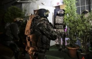 Adana'da terör örgütü PKK'lıların...