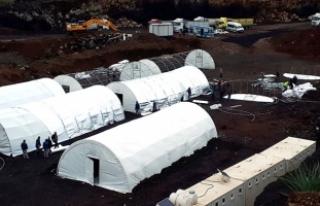 AFAD sınıra çadır kuruyor