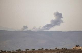 Afrin'deki terör mevzileri böyle bombalandı...