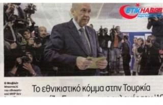 AK Parti-MHP İttifakı Yunan Basınını Rahatsız...