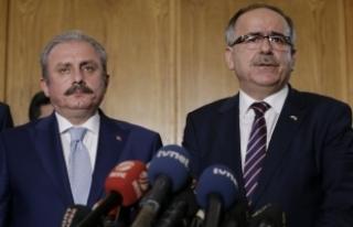 AK Parti-MHP Milli Mutabakat Komisyonunun ilk toplantısı...