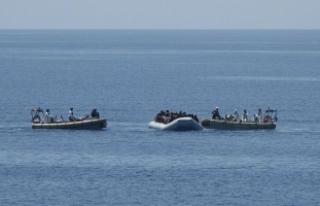 Akdeniz'de 64 kaçak göçmen boğuldu