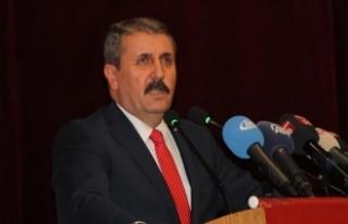 BBP Genel Başkanı Destici: BBP sistemin alternatifi...