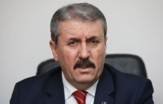 BBP Genel Başkanı Destici Destici Kiev'de