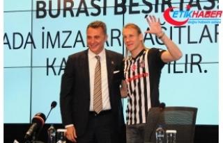 Beşiktaş, Domagoj Vida ile sözleşme imzaladı
