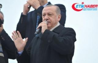 Cumhurbaşkanı Erdoğan: Hepsinin üzerinden silindir...