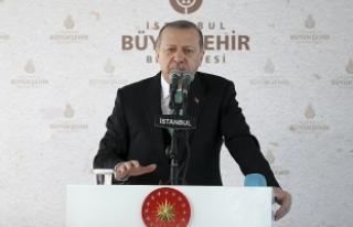 Cumhurbaşkanı Erdoğan: İbadet özgürlüğü devletlerin...