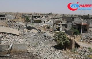 DEAŞ Kerkük'ün güneyinde 116 köyü tahrip...