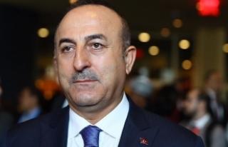Dışişleri Bakanı Çavuşoğlu Alman medyası için...